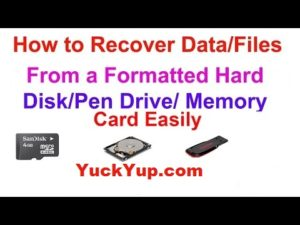 How To Recover Deleted/Formatted Data From Your Pc With Easeus Data Recovery